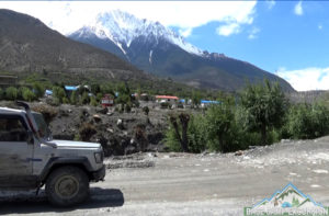Jomsom to Muktinath jeep tour and jeep rental service Mustang
