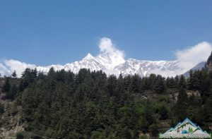 Mount Dhaulagiri view on lower mustang tour package