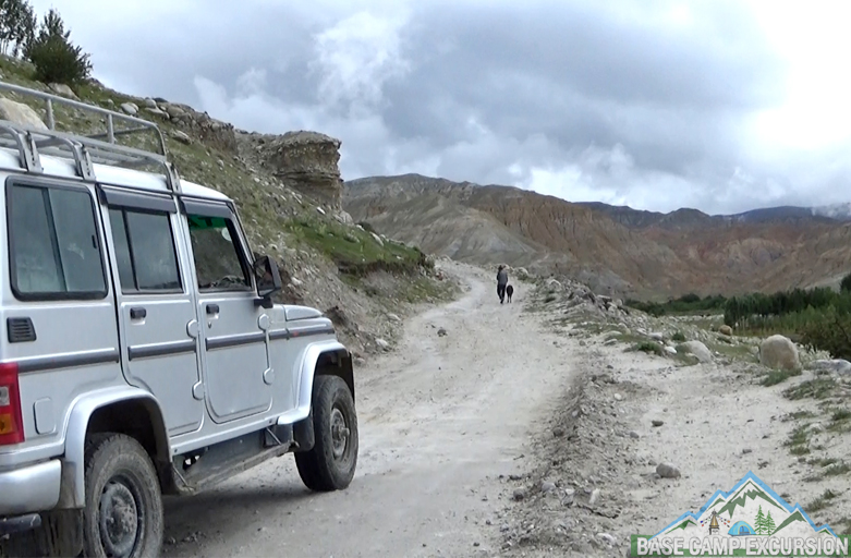 Rent a Jeep for Upper Mustang trip in Nepal