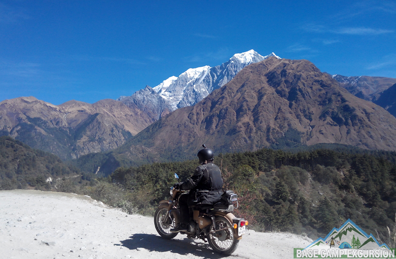 Upper Mustang motorbike tour by royal Enfield motorcycle Nepal