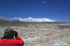 Upper Mustang pictures known as desert of Nepal