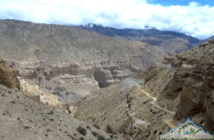 Road trip to upper mustang by car