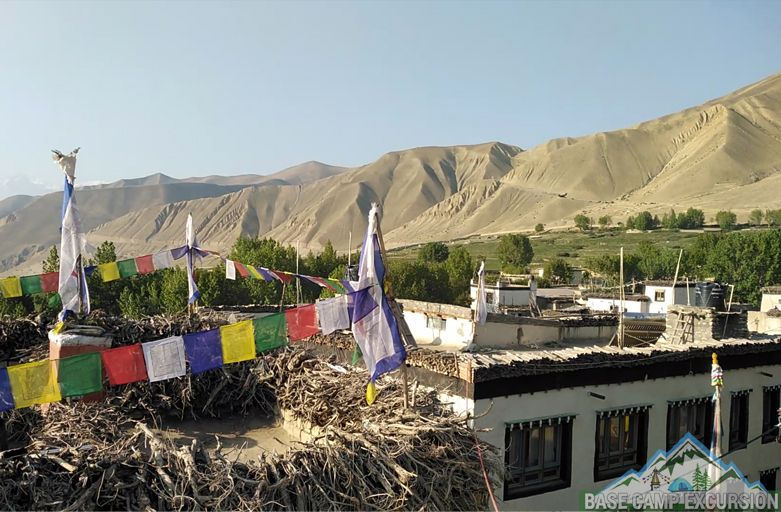 Types of accommodation & food during upper mustang trip Nepal