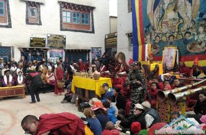 Annual Tiji Festival celebration at Lo-Manthang