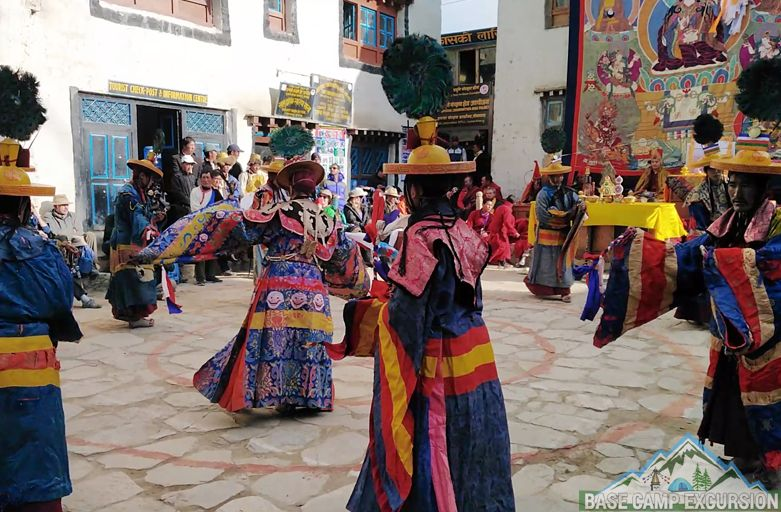 Tiji festival Photos Lo manthang with images of Mustang